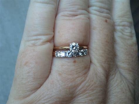 Wedding Ring Tight by Gratitude Journal Day 21 My Rings Kuoha Designs Ink