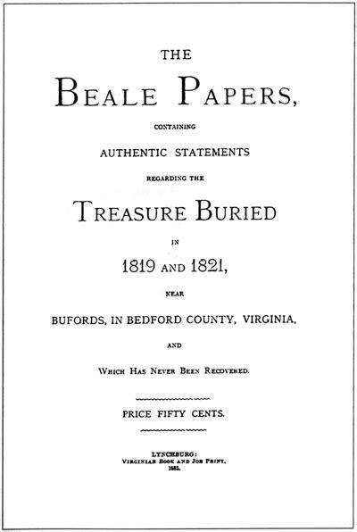 O enigma das Cifras de Beale – Mistérios Inexplicáveis