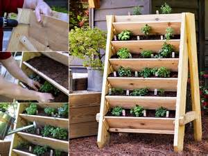 diy herb planter vibrant vertical garden pyramid planter guide and