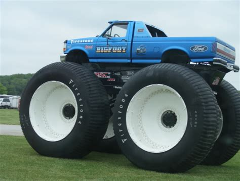 bigfoot 21 monster truck respeto a bob chandler esto es bigfoot taringa