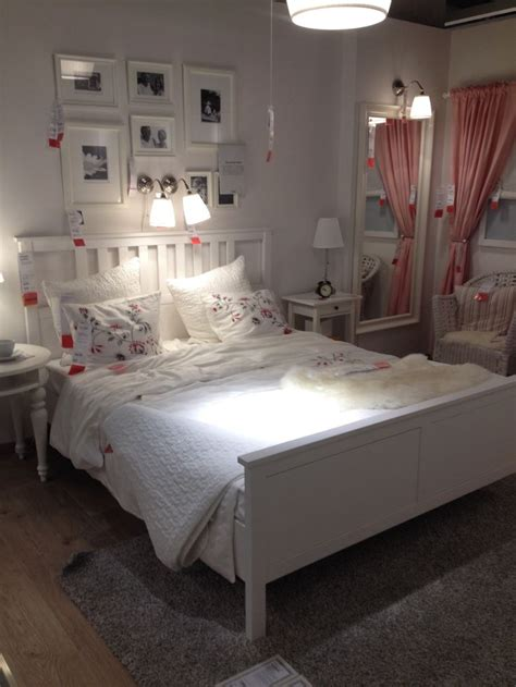 hemnes bed white ikea hemnes bed beach house ideas pinterest