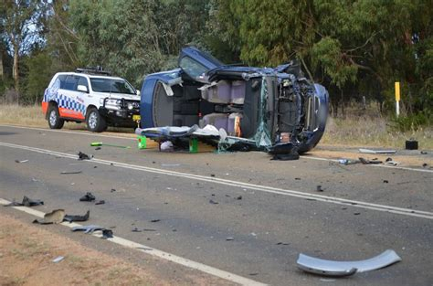 Hogans Seriously Injured In Car Crash by Two Seriously Injured In Car Crash The Border Mail