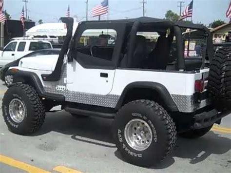1993 Jeep Wrangler For Sale 1993 Jeep Wrangler For Sale Lifted Call 954 937 8271
