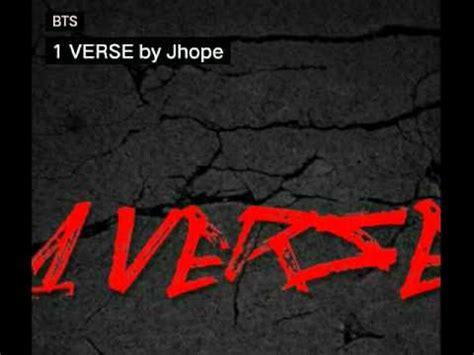 download mp3 jhope bts 1 verse 1 verse by jhope bts mixtape youtube
