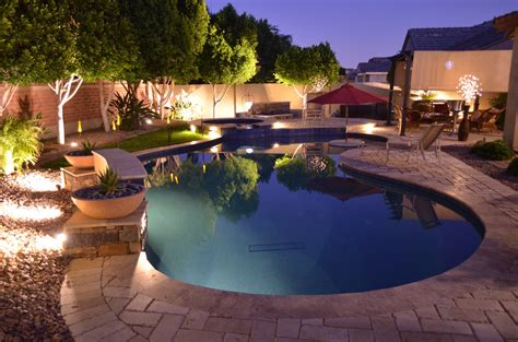 Backyard Pools In Arizona Another Happy Pool Customer Saturn Pools