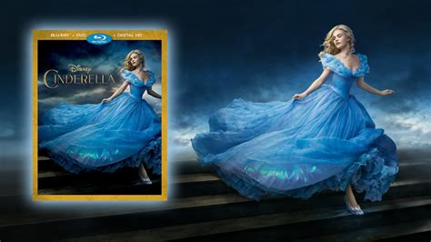 cinderella film blu ray cinderella announced for blu ray combo pack digital hd