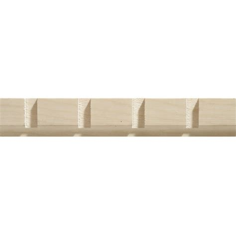 Decorative Wood Trim Lowes by White Hardwood Dentil Trim Moulding 11 32 X 1 3 16 Sold Per 8 Foot 5255 8whw In Canada