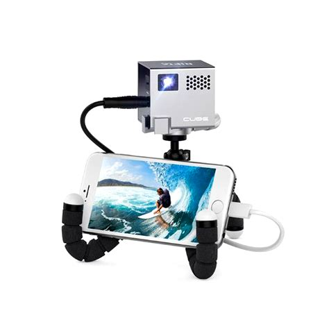 mobile projector cube smallest mobile projector rif6 cube 2 inch gwyl io