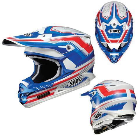 Helm Cross Shoei Shoei Vfx W Salute Motocross Mx Enduro Road Atv