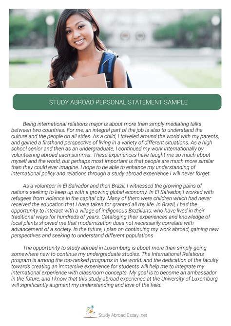 study abroad essay examples study abroad essay study essay resume