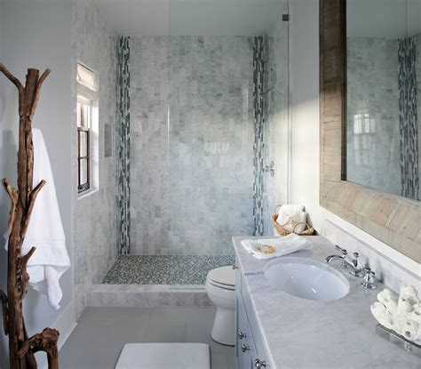 bathroom tile accents blue mosaic tile shower cottage bathroom sherwin