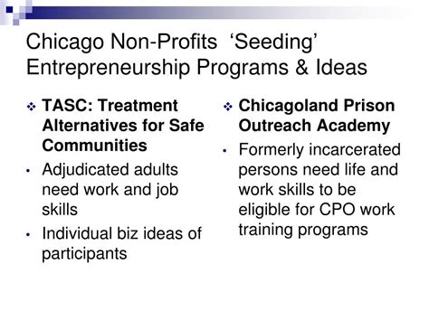 Entrepreneurship Mba Programs by Ppt How Non Profits Become Self Sufficient Powerpoint