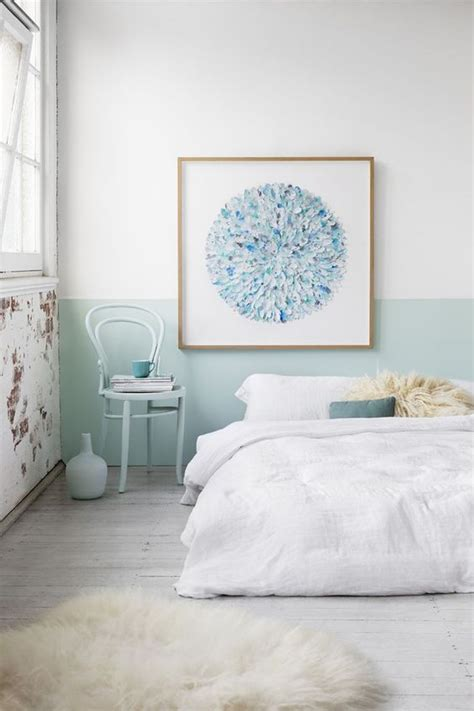 painting bedroom walls chic half painted walls that you will have to see