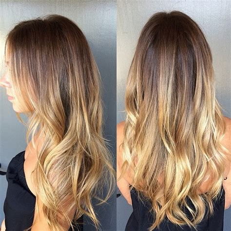 hair color hot 2015 brunette with melted butter highlights hair pinterest