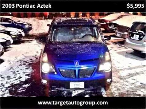 car repair manuals download 2003 pontiac aztek windshield wipe control 2003 pontiac aztek problems online manuals and repair information