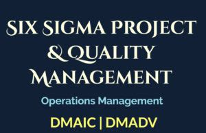 Six Sigma Project Report For Mba by The Marketing Mix 4 P S Policy