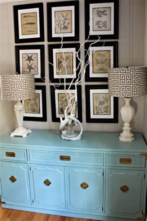 goodwill furniture makeovers goodwill furniture makeover robin s egg blue console ballard designs ls coastal artwork