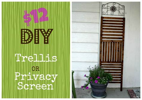 Cost Of Trellis 12 Outdoor Trellis Privacy Screen Diy Happyandsimple