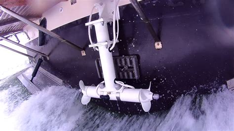 which side of a boat is the stern sideshift bow stern thrusters sideshift