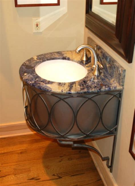 Wrought Iron Bathroom Vanity New Wrought Iron Bathroom Vanities By Ironcraft Artisan Crafted Iron Furnishings And