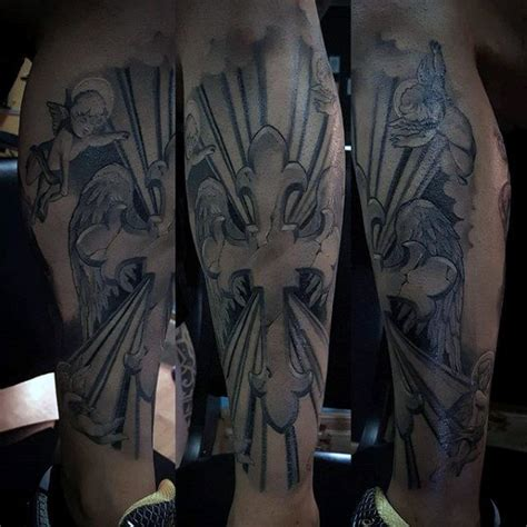 badass tattoos of crosses 50 badass cross tattoos for manly design ideas