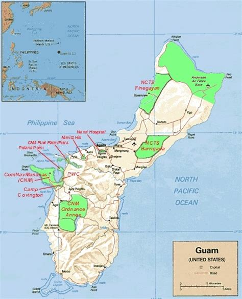 map of guam guam naval base map pictures to pin on pinsdaddy