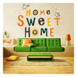 home sweetm home decorative vinyl and sticker home sweet home