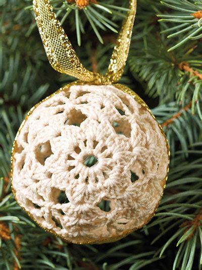 lighted ornament garland crochet lighted ornament garland pattern