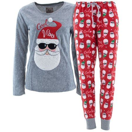 Pj Pj Pajamas pj couture s santa cool vibes fleece pajamas