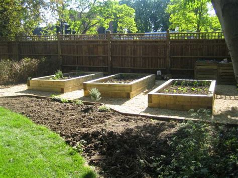 Sleeper Vegetable Garden by Railway Sleepers