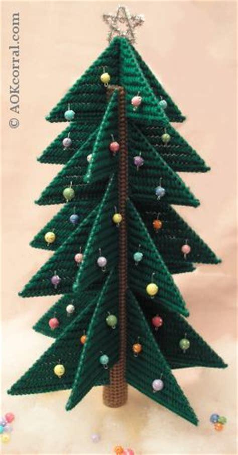 weihnachtsbaum plastik plastic canvas tree patterns for