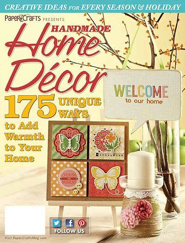 Handmade Home Magazine - 17 best images about creative magazines on