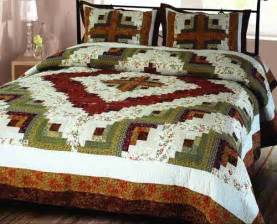 King Size Quilts Buy Log Cabin Quilt Luxury King Size Handmade Cotton
