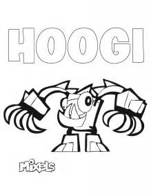 mixel coloring pages mixels coloring page hoogi eric s activity pages