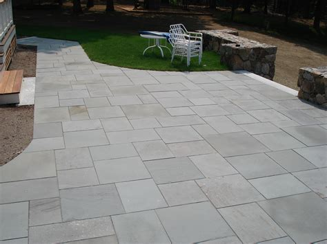 cost of paving backyard blue stone patio pavers cost 187 design and ideas
