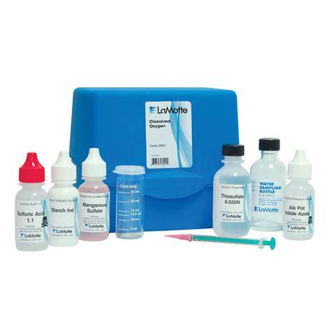lamotte dissolved oxygen test kit 50 tests kit from davis instruments