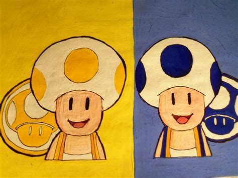 Bros Cemara 3 toads new mario bros wii by the 1up king on deviantart