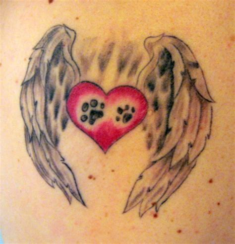 30 lovely heart with wings tattoo designs creativefan