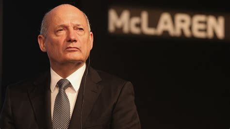 mclaren ceo ron dennis relinquishes role as mclaren chairman and chief