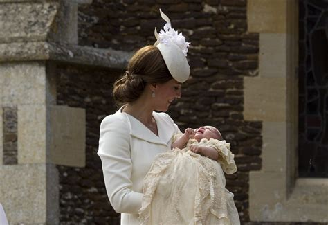 princess of england princess charlotte s christening is a mix of old and new