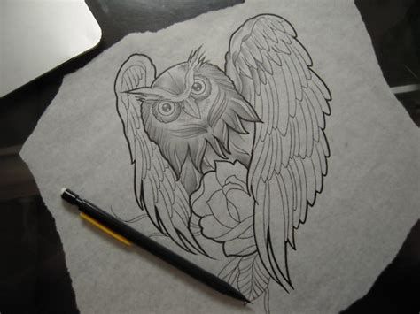 owl tattoo sketch tumblr owl tattoo sketch tattoos henna and inks pinterest