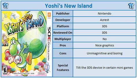 Kaset 3ds Yoshi S New Island yoshi s new island nintendo 3ds review