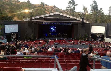 greek theater section c view of the stage from our section c seats yelp