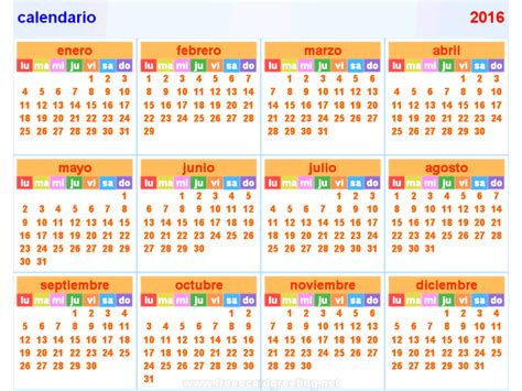 printable calendar 2016 spanish free printable pdf 2013 2014 calendar 1 month on 1 page