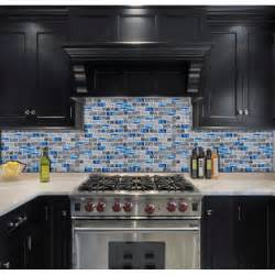 Blue Glass Tile Kitchen Backsplash Blue Glass Tile Kitchen Backsplash Subway Marble Bathroom