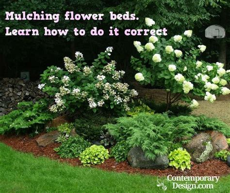 how to mulch a flower bed mulching flower beds learn how to do it correct