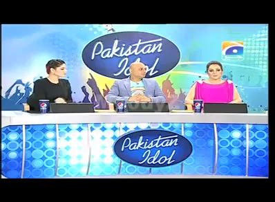 a big slap on pakistan idol judges tv.com.pk