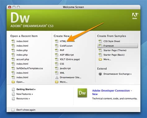 design html page using dreamweaver get the freeware dream weaver download free