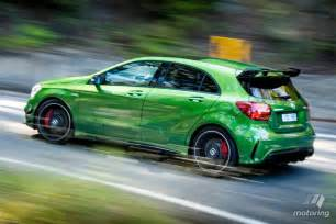 mercedes amg a 45 4matic 2016 review motoring au