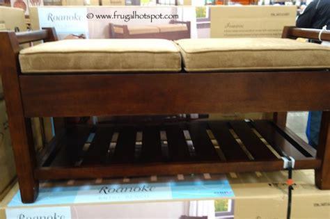 costco bench costco osp roanoke entry bench frugal hotspot